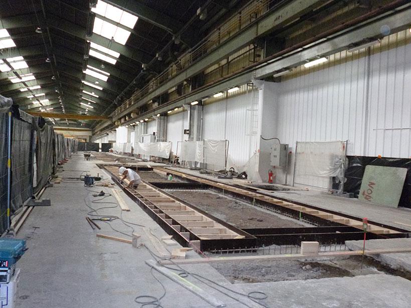 Génie civil – Alstom A26